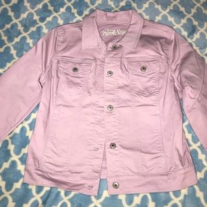 Adorable lilac jean jacket 💜
